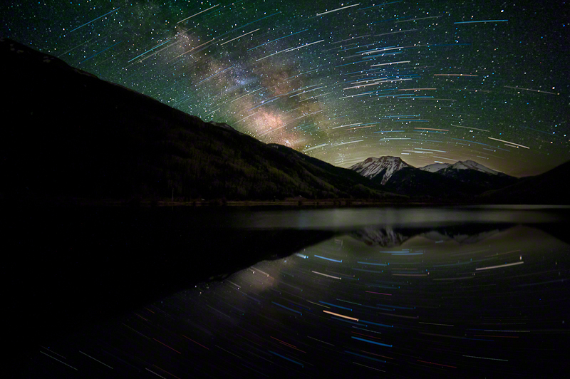 Celestial Rotation In The Colorado San Juans