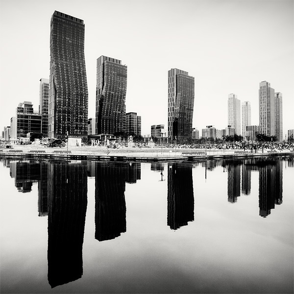 Black and white cityscapes; Megalopolis by Martin Stavars