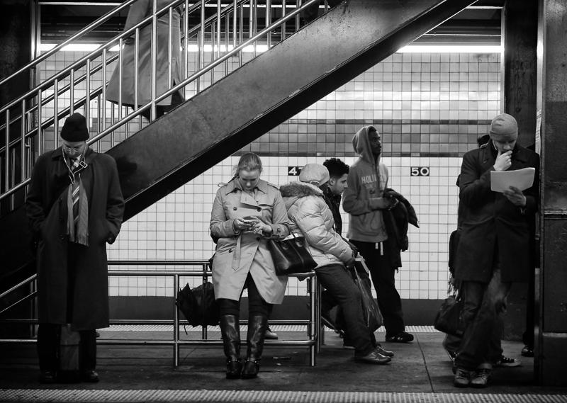 New York; Subway by Roman Kruglov
