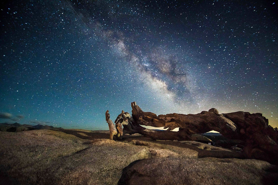Landscape astrophotography of Jesse Summers
