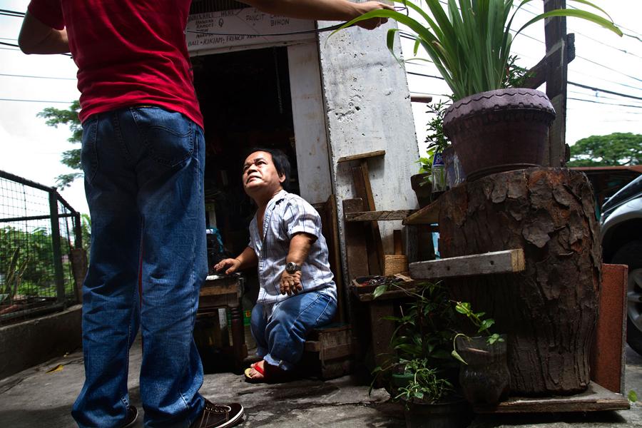 MANILA, PHILIPPINES - March 2012.