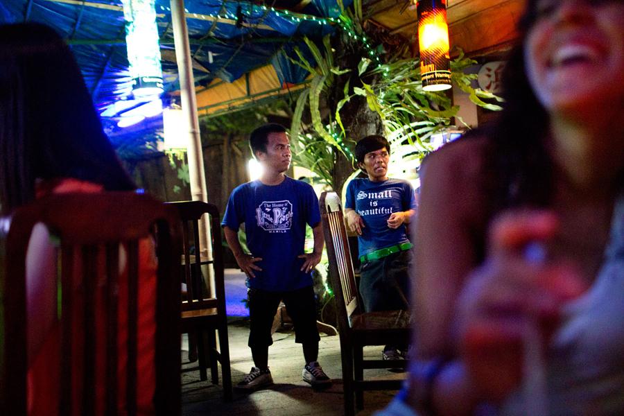 BORACAY, PHILIPPINES - June 2012.