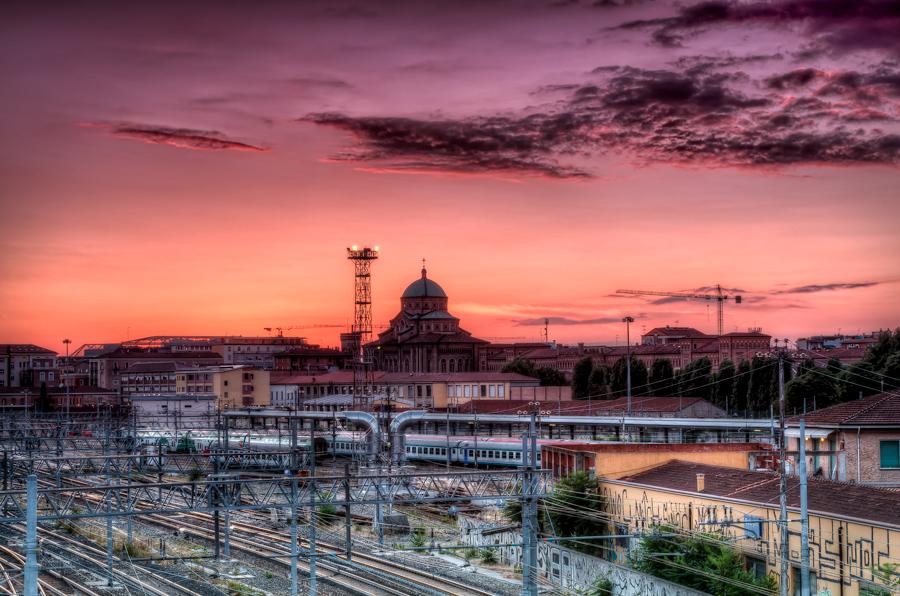 bologna_tramonto
