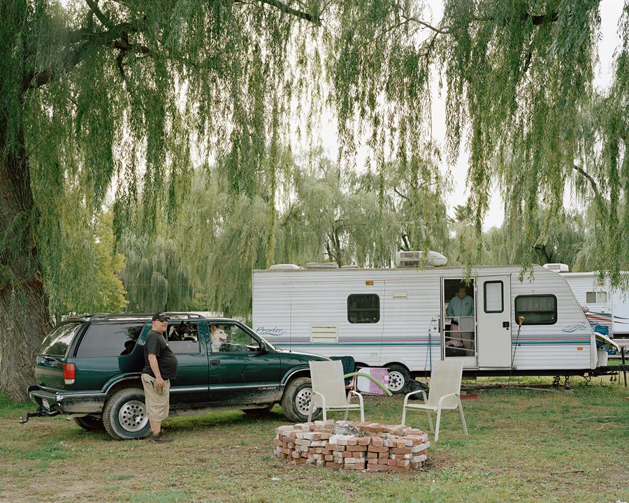Bob & Theresa, Lee's Trailer Park, Saratoga Springs, NY 10_17_12 001
