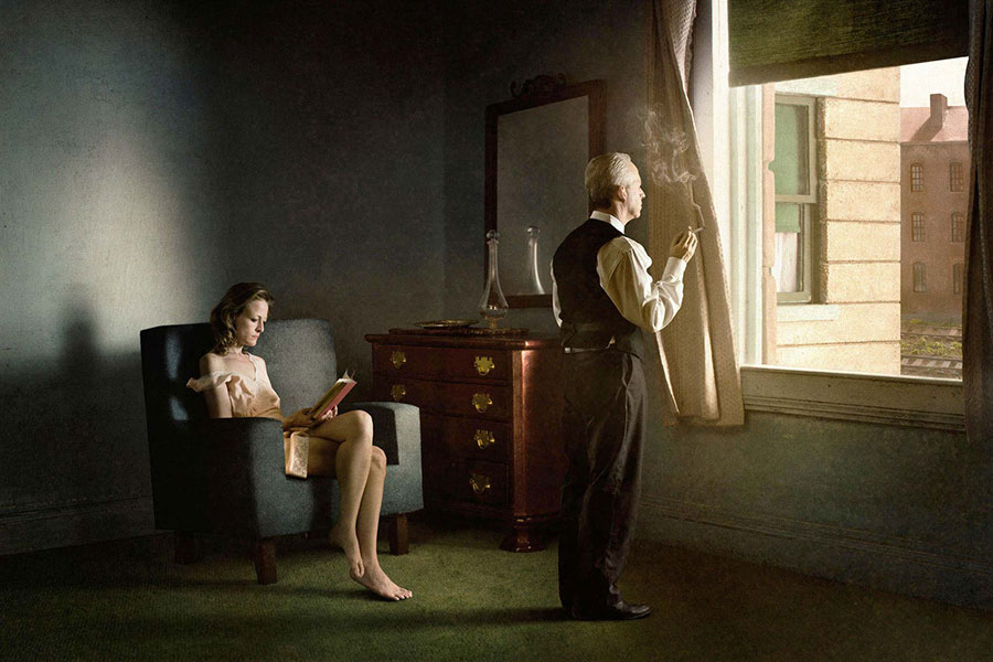 Hopper Meditation by Richard Tuschman
