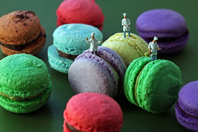 macaron team 900px by Christopher Boffoli