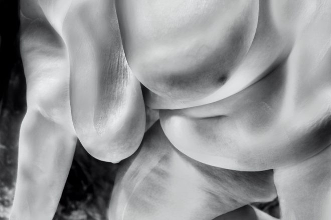 Female nude by Peter Day