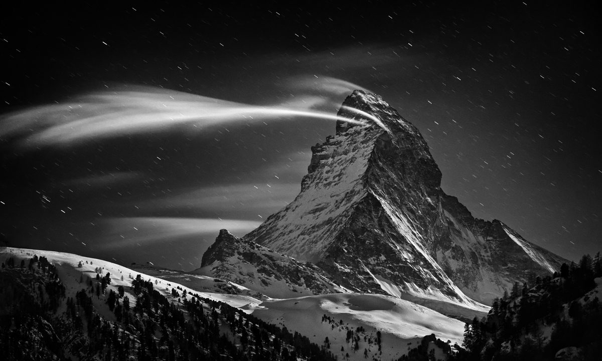 Portrait of the Matterhorn by Nenad Saljic