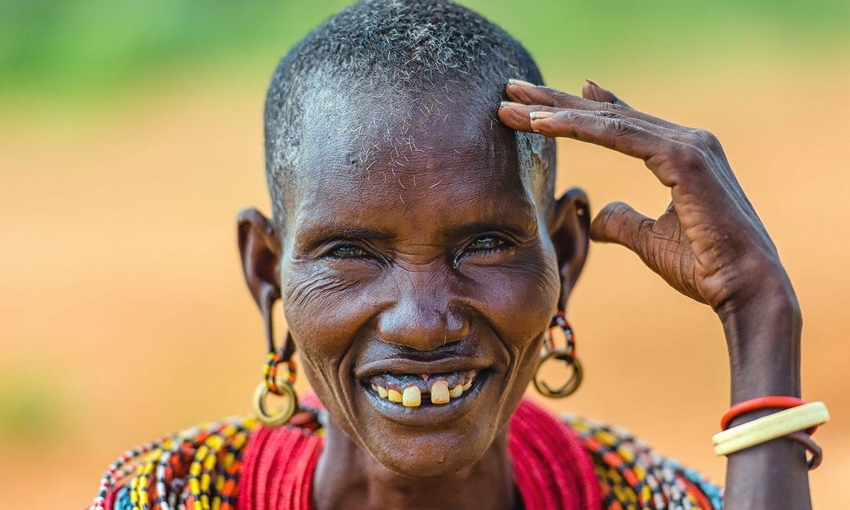 African Samburu Women by Marja Schwartz