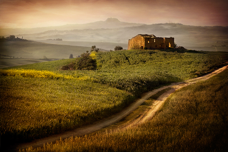 Tuscan Farmhouse, Pienza
