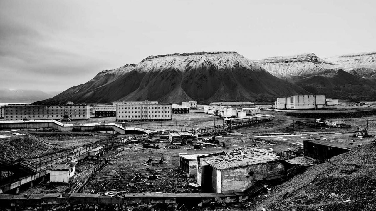 The Northernmost coal mines in the world by Anna Filipova