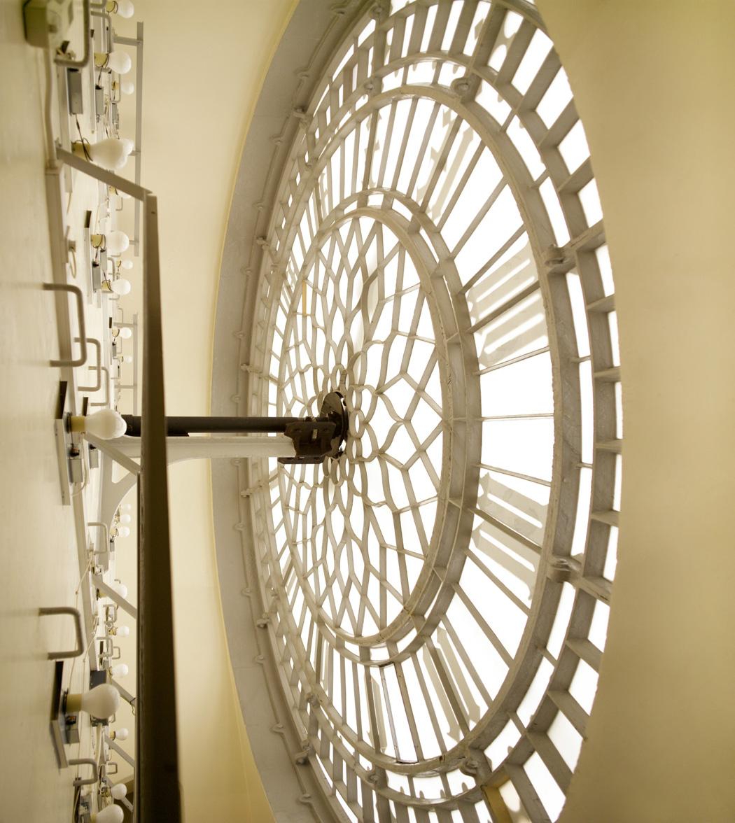 BB_Clock face from inside, south_CopyrightPeterDazeley_credit photographer Peter Dazeley