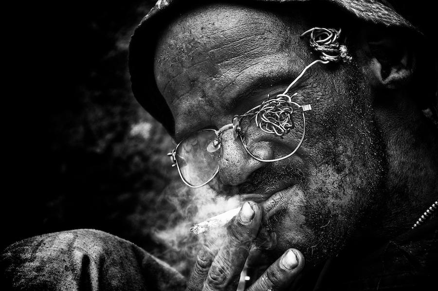 Harar street dweller