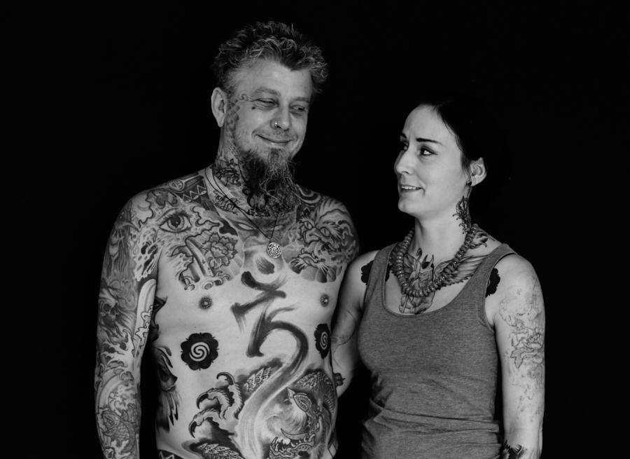 Jocke and his wife from Sweden 1