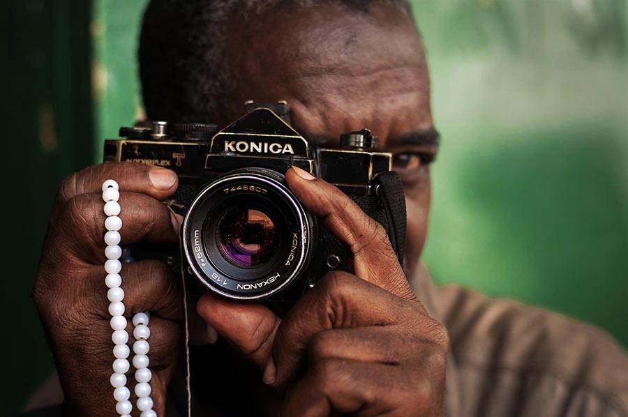 African Photographer by Adrien Tache