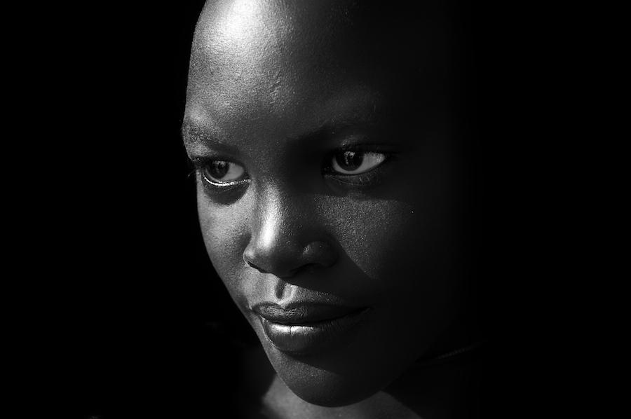 Suri tribesgirl beauty