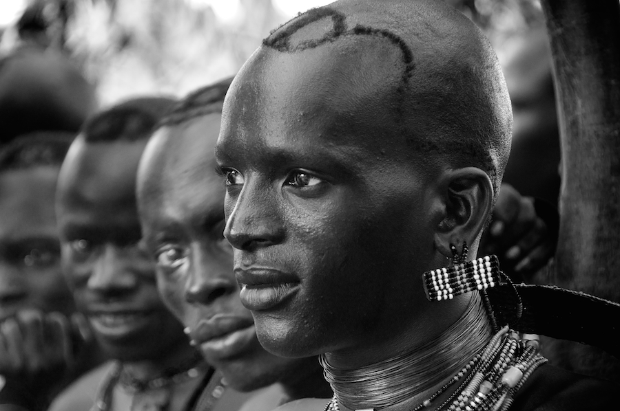 Young men of the Hamar tribe, Omo, Ethiopia Trevor Cole