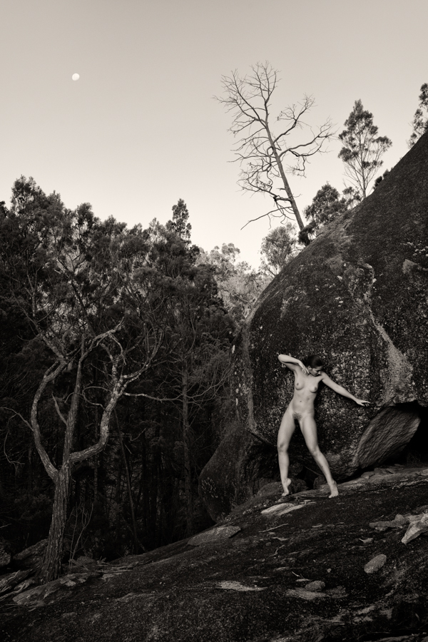 Fine art nude photograph by Los Angeles fashion