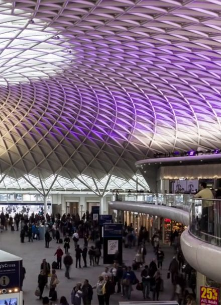 London Architecture Time Lapse in Motion