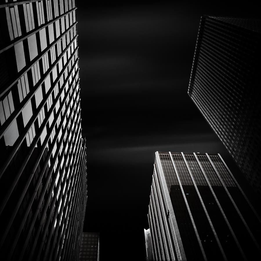 Between the city