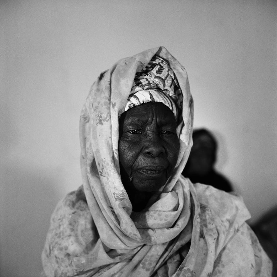 Veuve d'un tirailleur nigŽrien, Zinder, Niger, 2008.