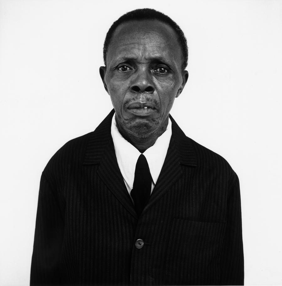 Louis FakŽgnŽ, tirailleur bŽninois, Porto-Novo, BŽnin, 2001.