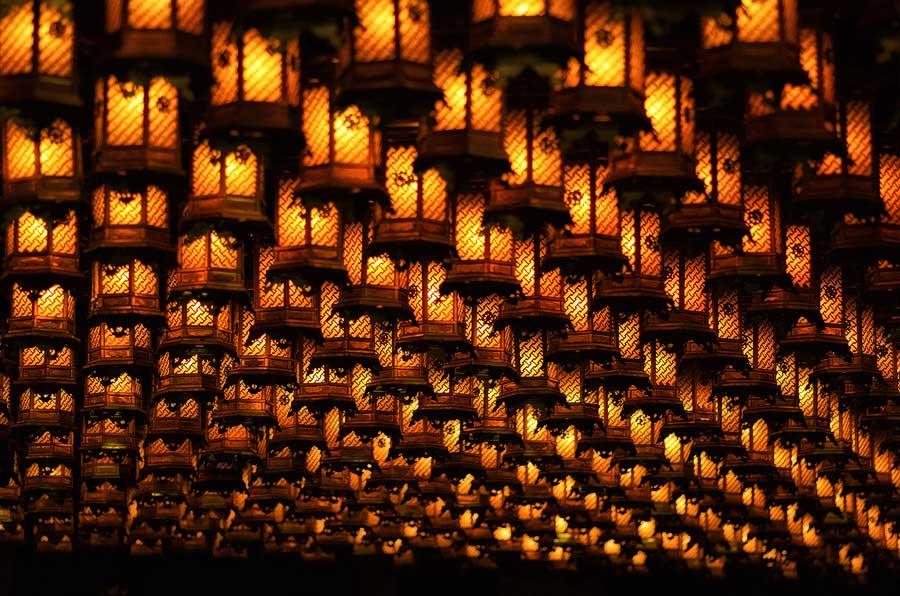 20 Thousand lanterns