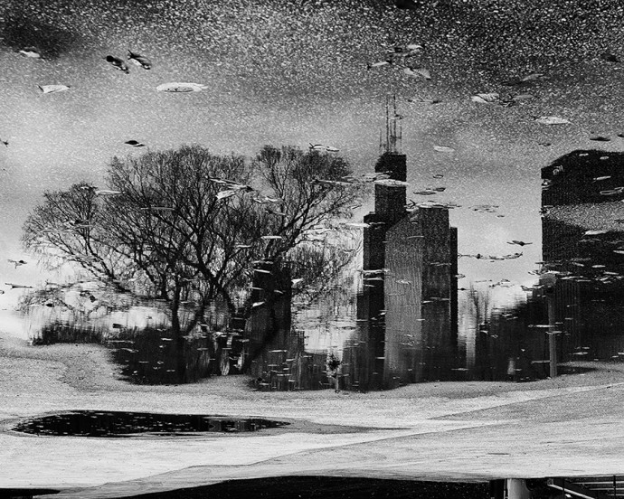 Chicago through the Looking Glass by Steve Geer