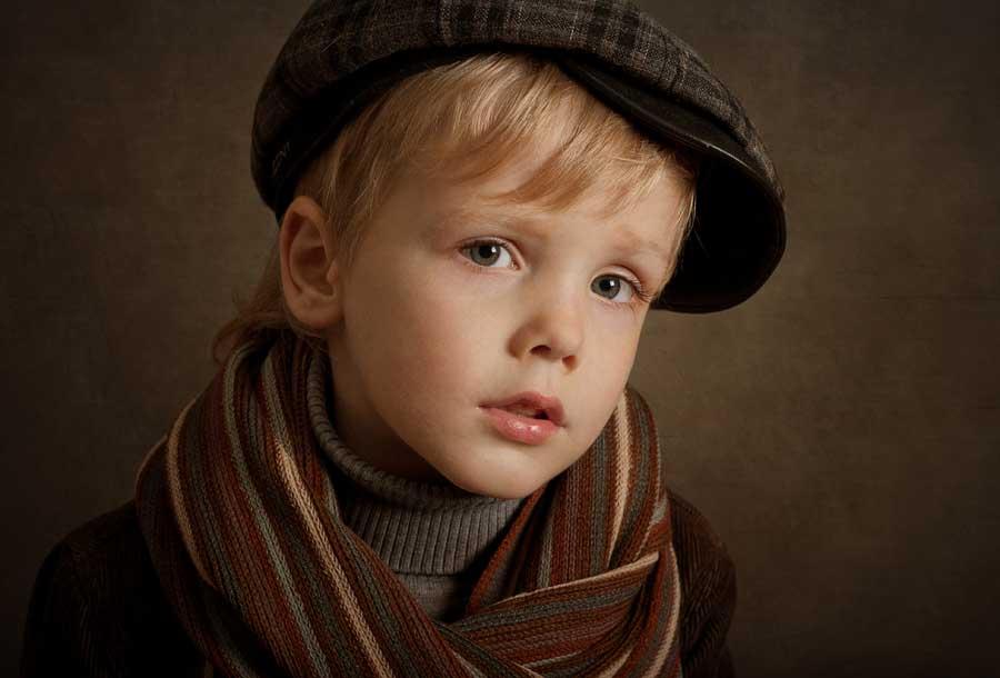 Children Portrait / Alina Mayboroda / All Adults Were Children First