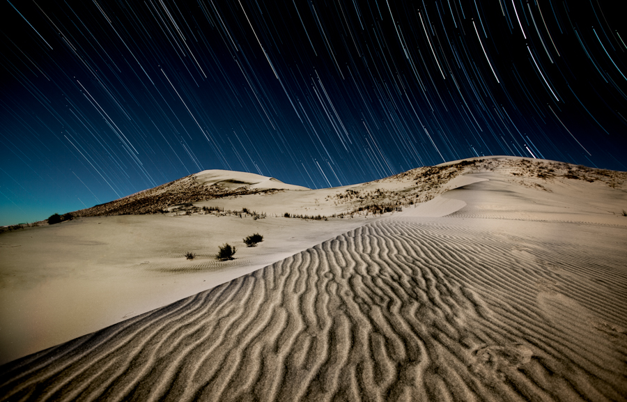 Night photography / Tom Lowe Dune_Trails