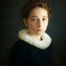 Children Portrait / Alina Mayboroda / Portrait of Young Girl