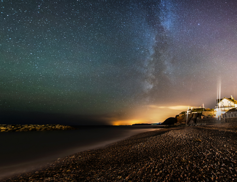 Sidmouth Milky Way- Ollie Taylor – Nightscape Photographer
