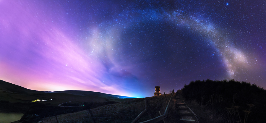 Celestial Night- Ollie Taylor – Nightscape Photographer