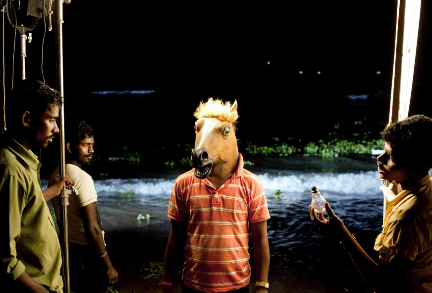 Tirage 11 Horse 30x45 Surreal Portrait / Jean Bastien Lagrange