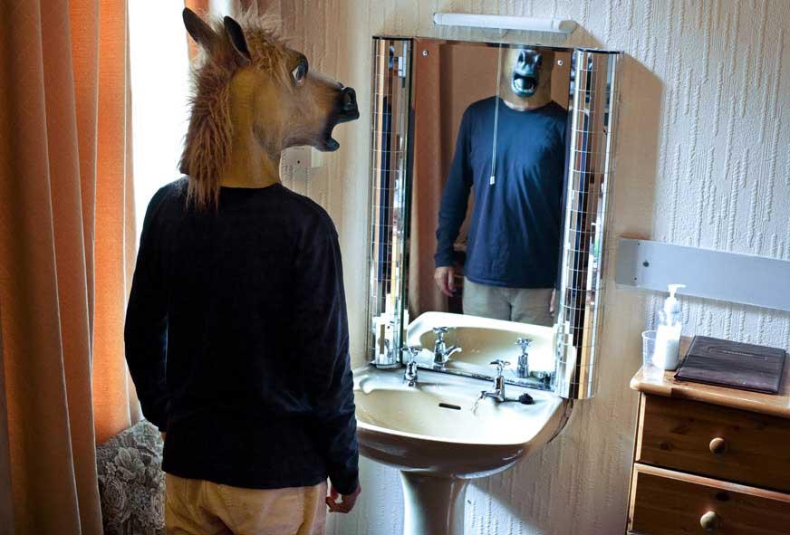 Tirage 14 Horse 30x45 Surreal Portrait / Jean Bastien Lagrange