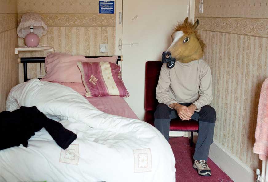 Tirage 17 Horse 30x45 Surreal Portrait / Jean Bastien Lagrange