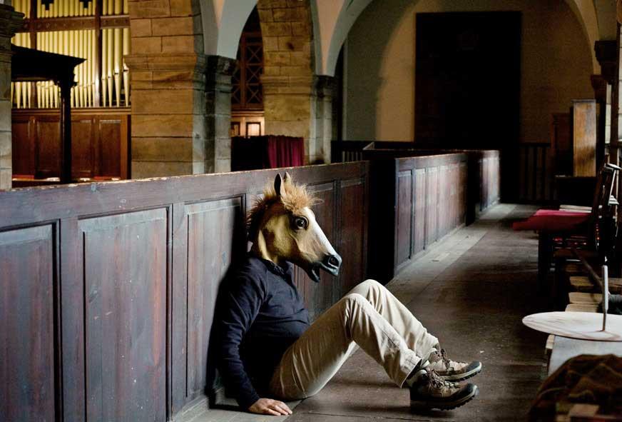Tirage 22 Horse 30x45 Surreal Portrait / Jean Bastien Lagrange