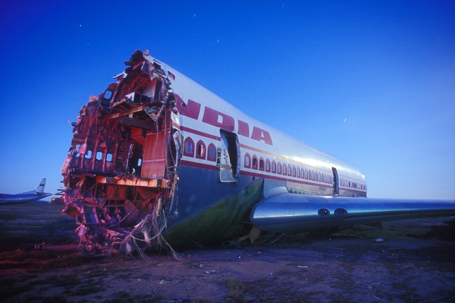 Boneyard: 25 Years of Aircraft Graveyards at Night by Troy Paiva