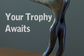 Three bronze trophies await the Top Prize winners of KLPA15