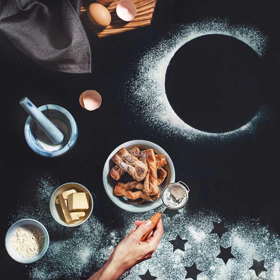 Puff pastry with stardust Dina Belenko
