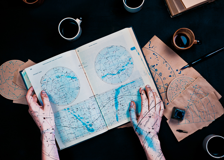 Map-marked stars (Endless Book)