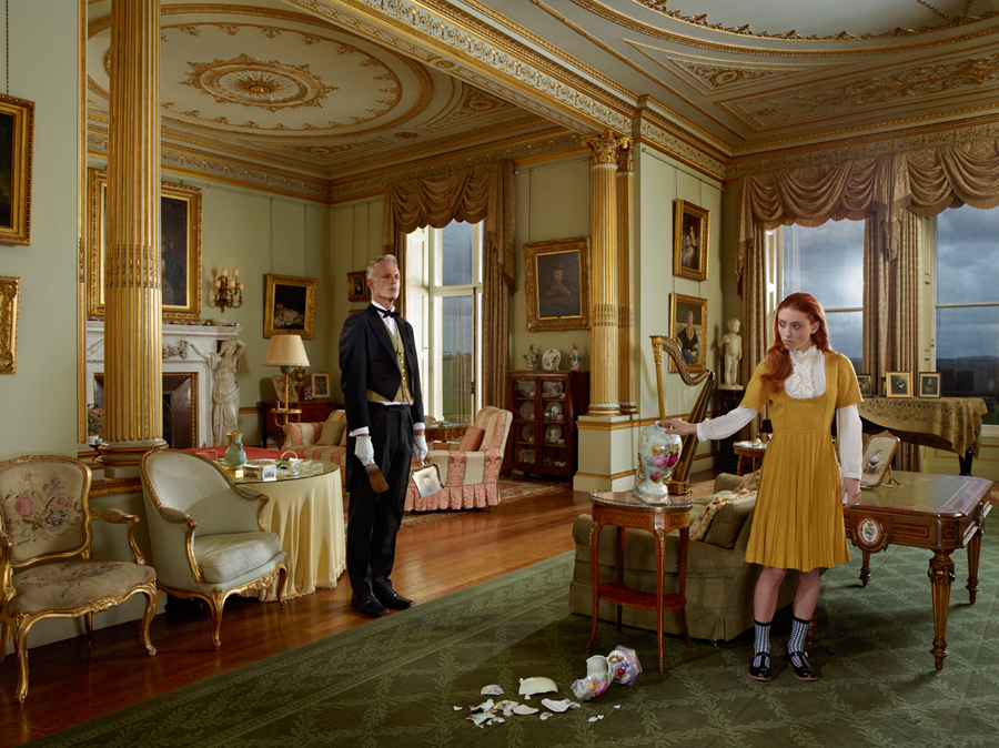 Julia Fullerton-Batten The Butler and the Princess / conceptual photography