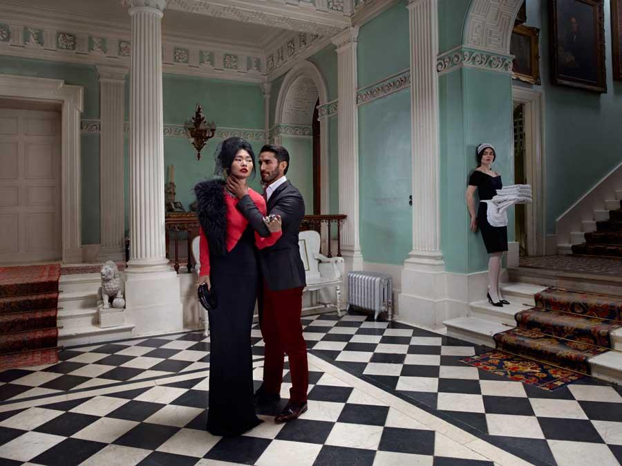 Julia Fullerton-Batten The Chambermaid's Secret / conceptual photography