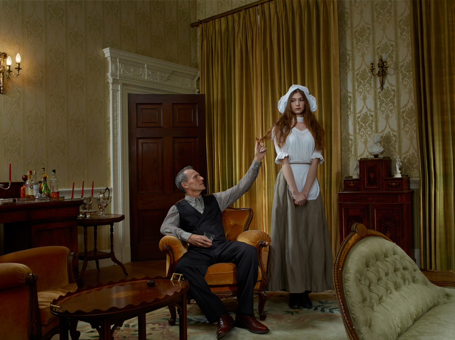 conceptual photography Julia Fullerton-Batten The Scullery Maid