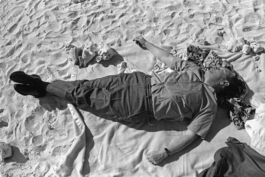 Edward Yanowitz Sunbather