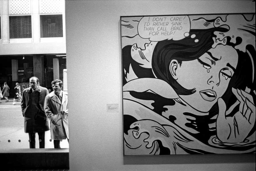 Edward Yanowitz New York. N.Y. MoMA 1974
