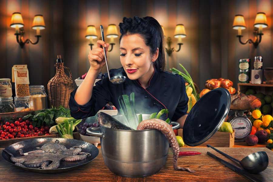 Creative photography / La soupe des chefs
