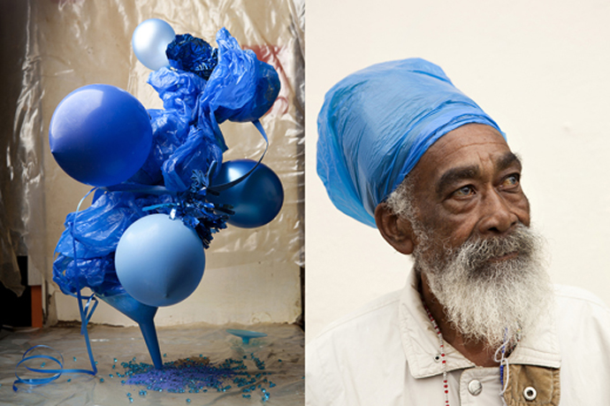 Plastic Blue # 1&2 from the Dalston Anatomy series - 2013