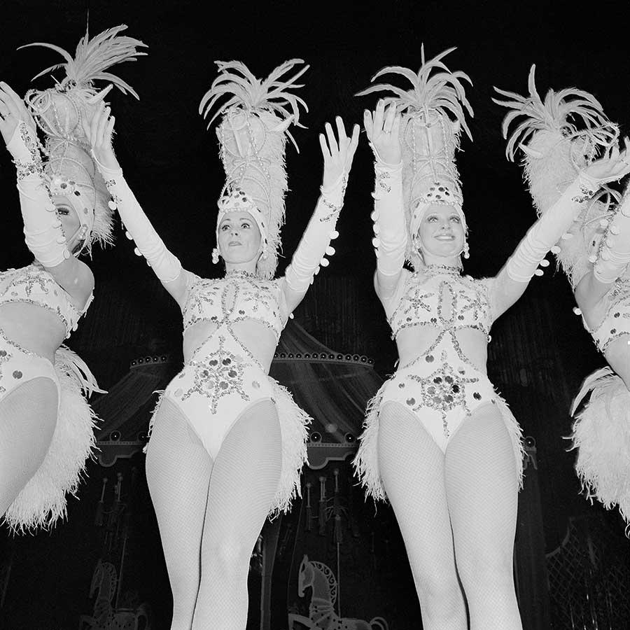 The Rockettes Raise Their ArmsRadio City Music HallNY, NY.