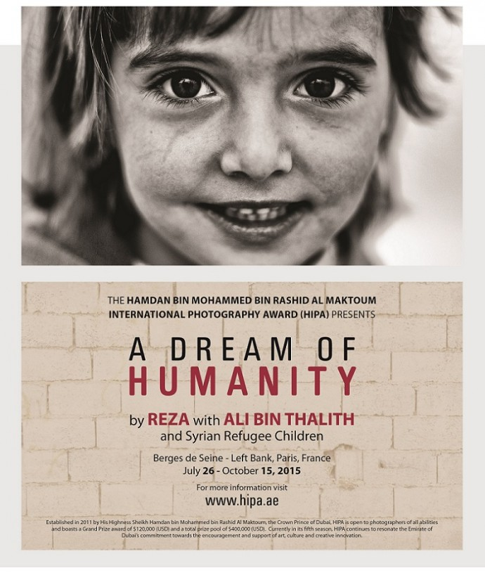 HIPA presents 'A Dream of Humanity' exhibition in Paris